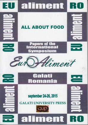 Cover for All about food: Euro Aliment 2015