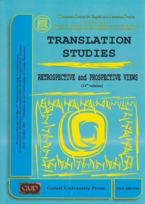 Cover for Translation studies: vol. 14