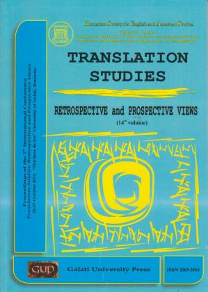 Cover for Translation studies: vol. 14