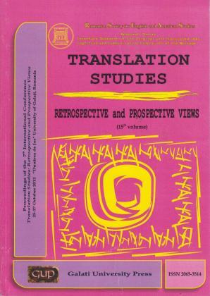 Cover for Translation studies: vol. 15
