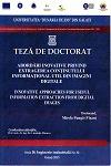 Cover for Abordări inovative privind extragerea conţinutului  informaţional util din imagini digitale: teză de doctorat