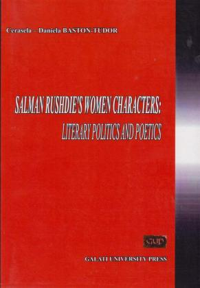 Cover for Salman Rushdie's women characters:  Literary politics and poetics