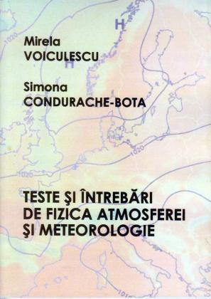 Cover for Teste și întrebări de fizica atmosferei și meteorologie