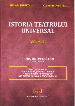 Cover for Istoria teatrului universal, vol. I