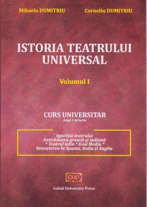 Cover for Istoria teatrului universal, vol. I
