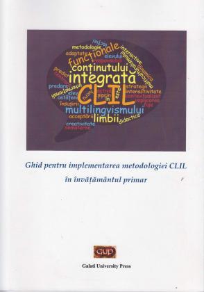 Cover for Ghid pentru implementarea metodologiei CLIL  în învățământul primar