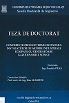 Cover for Contribuţii privind termo-economia instalaţiilor de ardere industriale echipate cu generatoare gazodinamice sonice: teză de doctorat
