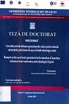 Cover for Cercetări privind utilizarea generatoarelor sonice  pentru extracția substanțelor periculoase din ape și lichide tehnologice uzate: teză de doctorat