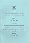 """Cover for The Annals of """"Dunarea de Jos"""" University of Galati,  Fascicula XVII, Medicine: no. 1, 2016"""