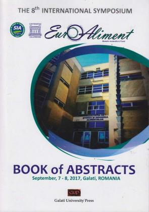 Cover for Euro-Aliment, Book of Abstracts: September 7-8, 2017