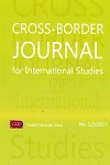 Cover for Cross-Border Journal for International Studies: Nr. 1, 2017