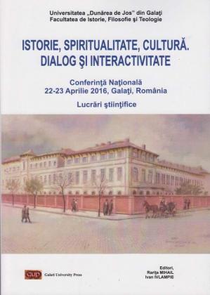 Cover for Istorie, spiritualitate, cultură: dialog și interactivitate