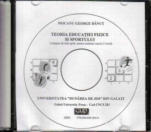 Cover for Teoria educației fizice și sportului: culegere de teste grilă