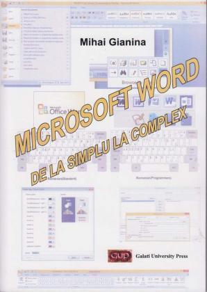 Cover for Microsoft Word de la simplu la complex