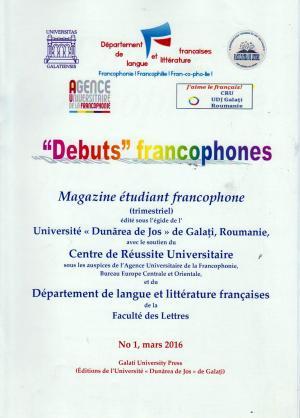 Cover for Débuts francophones