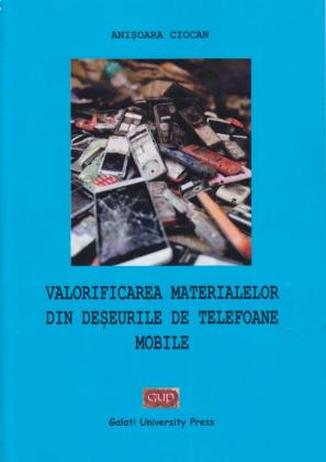 Cover for Valorificarea materialelor  din deșeurile de telefoane mobile