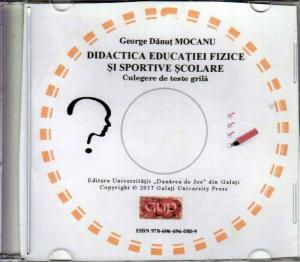 Cover for Didactica educației fizice și sportive școlare: culegere de teste grilă