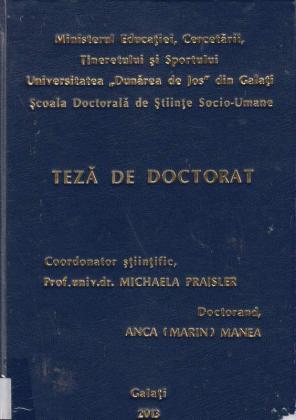 Cover for Trei scriitoare engleze contemporane. Subminarea canonului literar din interior. (Three contemporary women writers. Within and against the canon.): teză de doctorat