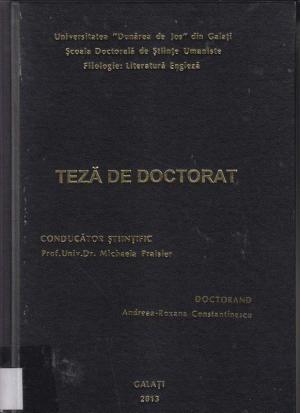 Cover for Politica şi poetica reprezentării corpului în teatrul renascentist englez: teză de doctorat