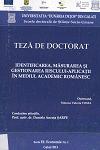 Cover for Identificarea, măsurarea şi gestionarea riscului - aplicaţii în mediul academic românesc: teză de doctorat