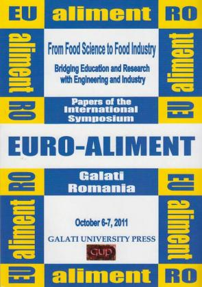 Cover for From Food Science to Food Industry. Papers of the International Symposium Euro-Aliment