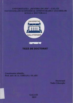 Cover for Managementul instituţiilor de asistenţă socială din perspectiva mutaţiilor previzibile din lumea contemporană: teză de doctorat
