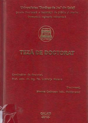 Cover for Metode avansate de procesare şi analiză a imaginilor complexe: teză de doctorat