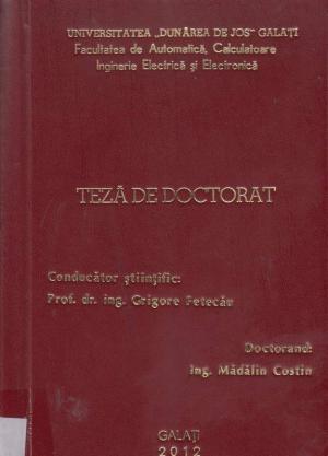 Cover for Cercetarea şi contribuţii asupra structurilor de conversie electromecanică în sistemele eoliene: teză de doctorat