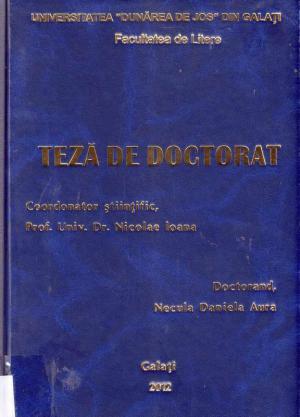 Cover for Literatura si discursul publicitar, o relaţie reciproc avantajoasă: teză de doctorat