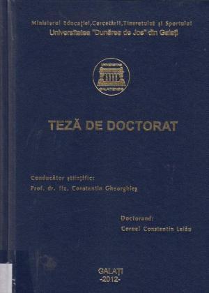 Cover for Contribuții la obținerea și caracterizarea unor bariere cu proprietăți anticorozive: teză de doctorat