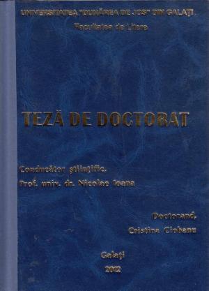 Cover for Poezia generației albatrosiste: teză de doctorat