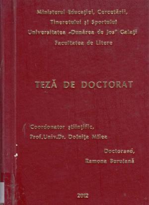 Cover for Imaginea țăranului român în romanul postbelic până la optzecişti: teză de doctorat