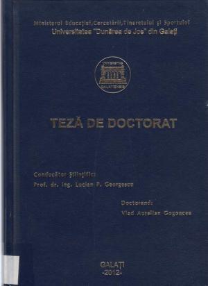 Cover for Studii asupra optimizării managementului deșeurilor: teză de doctorat