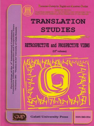 Cover for Translation Studies. Retrospective and Perspective Views