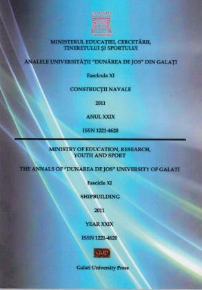 """Cover for Analele Universității """"Dunărea de Jos"""", Fascicula XI,  Construcții navale"""