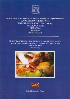 """Cover for Analele Universității """"Dunărea de Jos"""", Fascicula XVII, Medicină"""