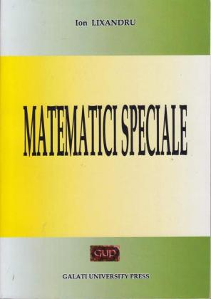 Cover for Matematici speciale