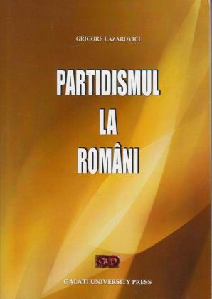 Cover for Partidismul la români