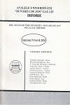 "Cover for The Annals of ""Dunarea de Jos"" University of Galati, Istorie: fascicula XIX"