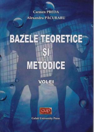 Cover for Bazele teoretice și metodice - Volei