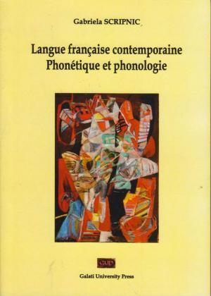 Cover for Langue française contemporaine.  Phonétique et phonologie