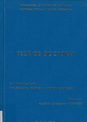 Cover for Cercetări privind valorificarea biomasei de drojdie reziduală din industria berii: teză de doctorat