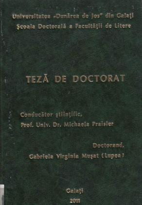 Cover for Exploring the Wilde Territory through Psychoanalytical Grids: teză de doctorat