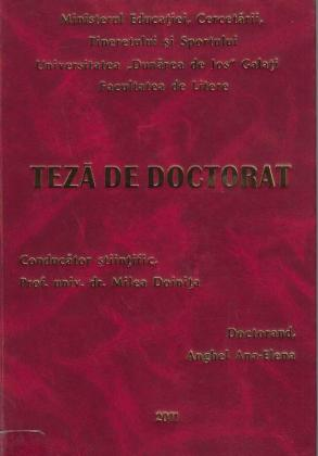 Cover for Interferenţe culturale în spaţiul românesc al secolului al XIX-lea până la apariţia spiritului critic junimist: teză de doctorat