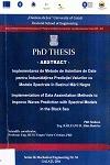 Cover for Implementarea de metode de asimilare de date pentru  îmbunătăţirea predicţiei valurilor cu modele spectrale  în bazinul Mării Negre: teză de doctorat