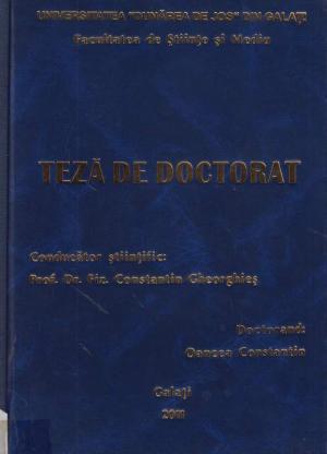 Cover for Analiza, modelarea şi design-ul clopotului bisericesc: teză de doctorat