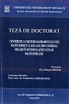 Cover for Contribuții la creșterea randamentului unei mașini termice cu aer cald, prin controlul mișcarii în sisteme elastice  cuplate magneto-mecanic: teză de doctorat