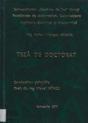 Cover for Aplicaţii ale sistemelor multiagent în distribuţia de energie electrică: teză de doctorat