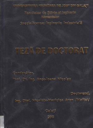 Cover for Efectul de inactivare al pulsurilor de lumină, asupra mucegaiurilor prezente în sisteme model şi sisteme de alimentare: teză de doctorat