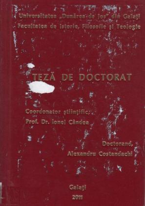 Cover for Receptarea lui Alexandru cel Mare în cultura rusă a secolelor XII-XVII: teză de doctorat